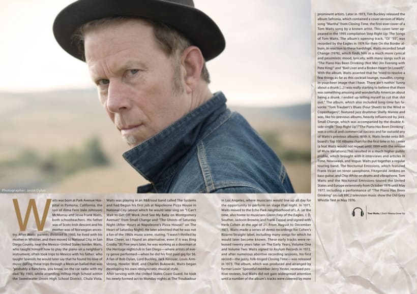 Tom Waits Article 0