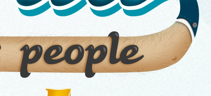 The world needs people who love what they do (lettering) 2
