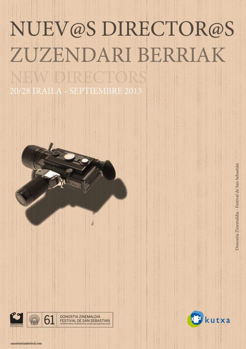 San Sebastian Film Festival Poster Contest -1