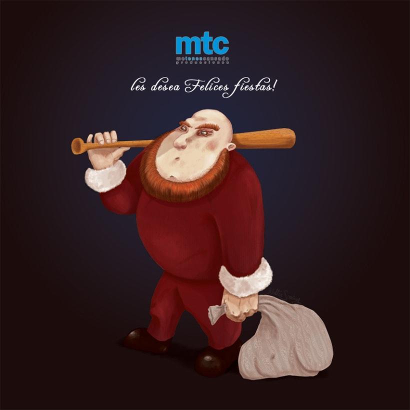 Un Santa para los tiempos que corren -1