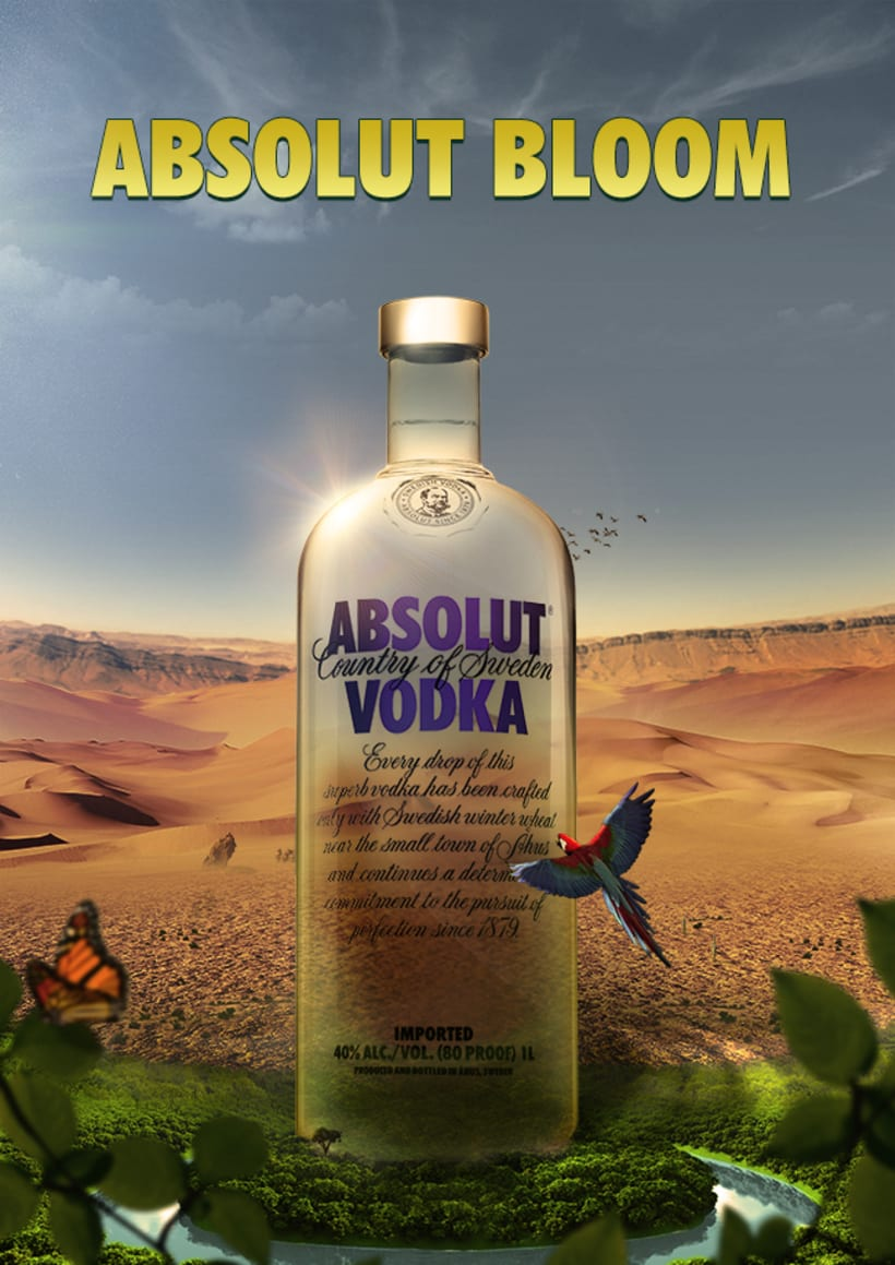 Absolut Bloom -1