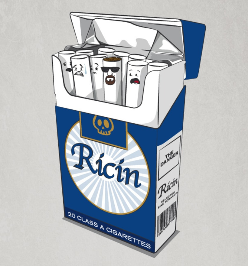 """Diseño de camiseta """"Ricin"""" 0"""