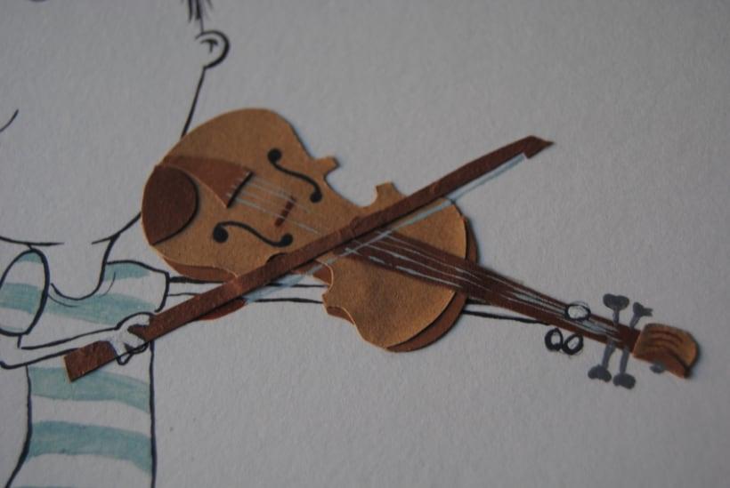 Collage violinista 0