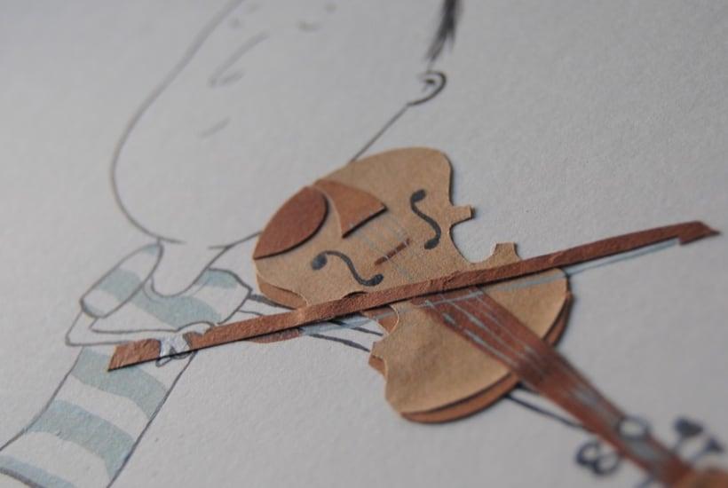 Collage violinista 1