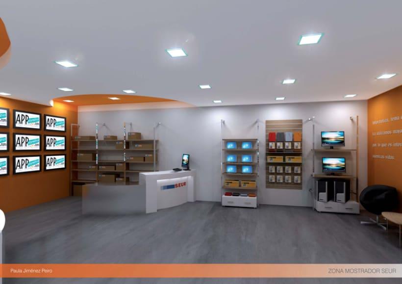 Proyecto de interiorismoTienda de informática 2012. (Murcia) 5