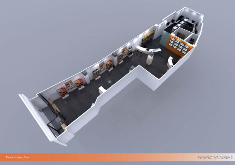 Proyecto de interiorismoTienda de informática 2012. (Murcia) 10