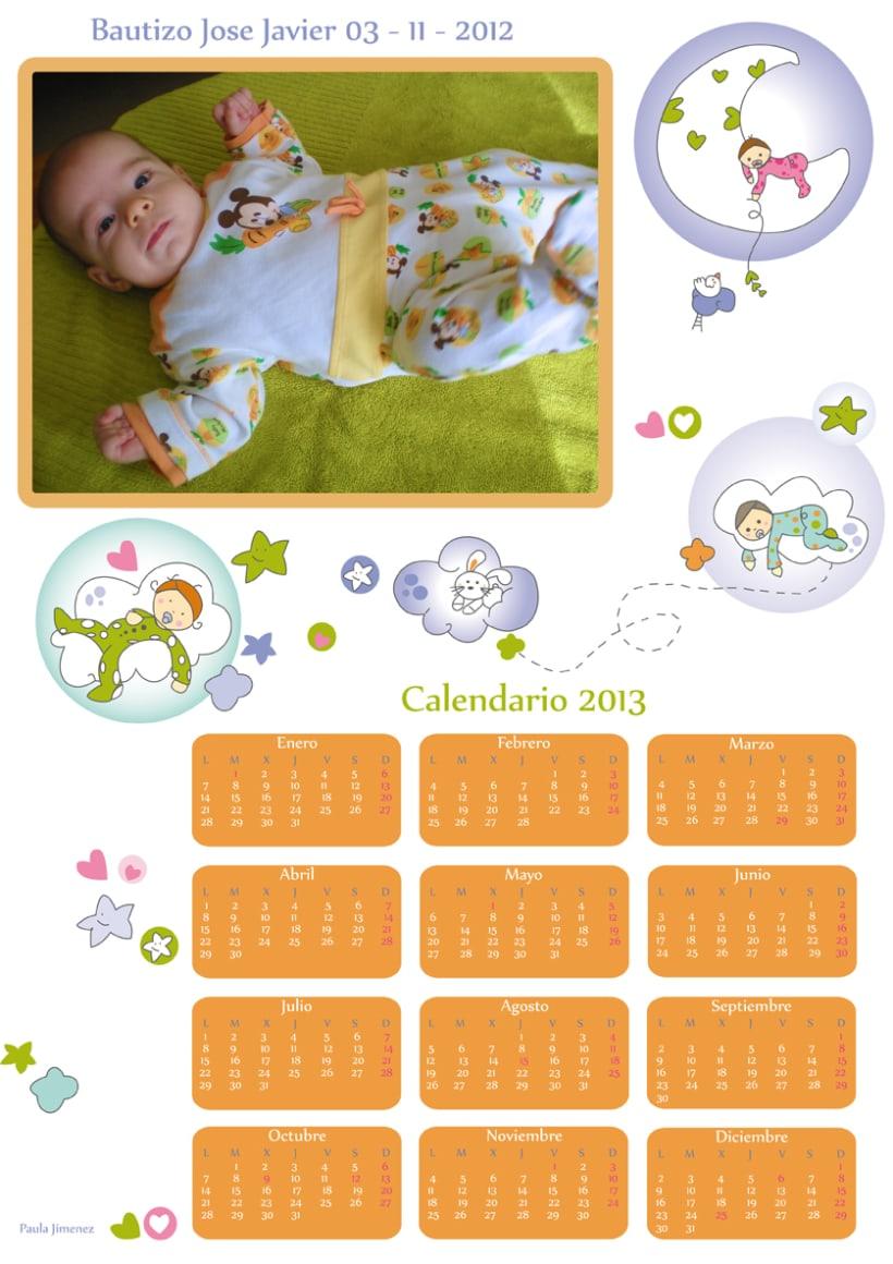 Grafismo para Calendario 2012 0