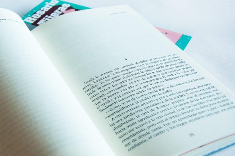 DISEÑO / MAQUETACIÓN / ILUSTRACIÓN / ARTEFINAL /Rosario Tijeras, edición ilustrada 2