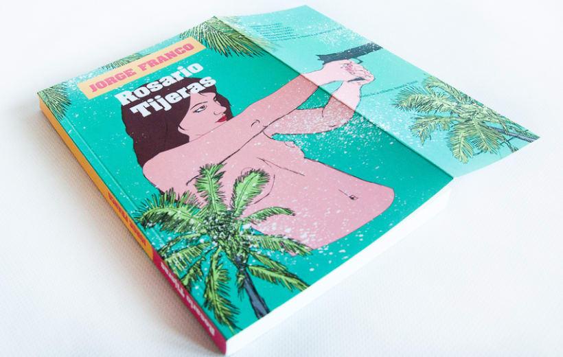 DISEÑO / MAQUETACIÓN / ILUSTRACIÓN / ARTEFINAL /Rosario Tijeras, edición ilustrada 0