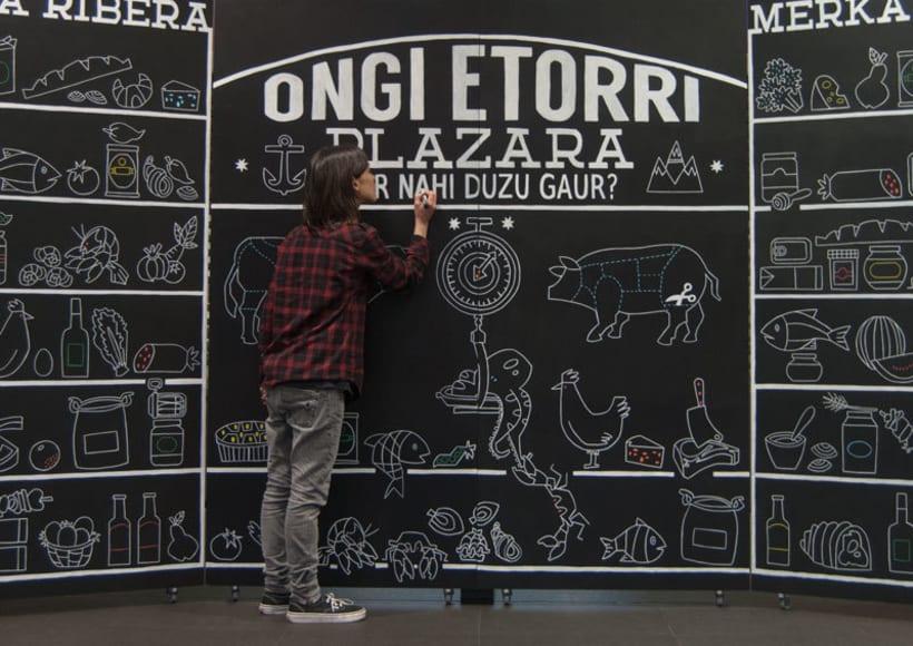 Mural Mercado la Ribera, Bilbao 3