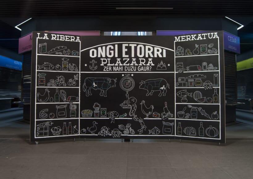 Mural Mercado la Ribera, Bilbao 7