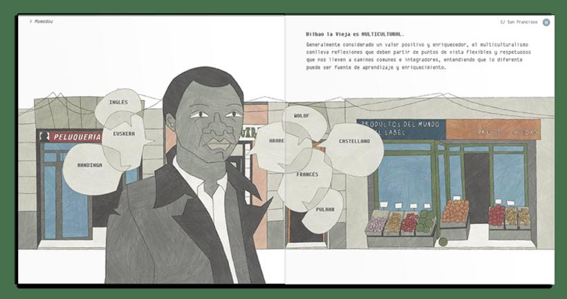 Libro ilustrado: BILBAO LA VIEJA , Espacio de Tolerancia 4
