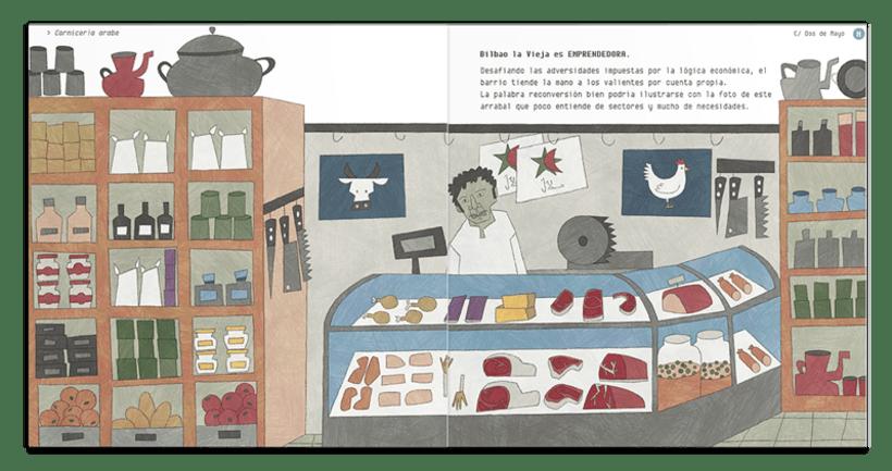 Libro ilustrado: BILBAO LA VIEJA , Espacio de Tolerancia 6