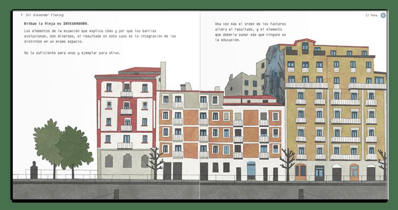 Libro ilustrado: BILBAO LA VIEJA , Espacio de Tolerancia 5