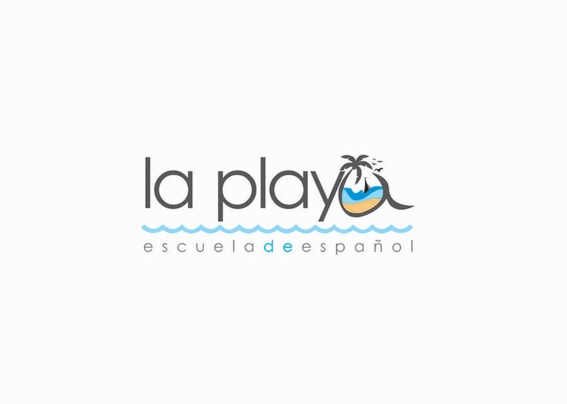 logotipo la playa 0