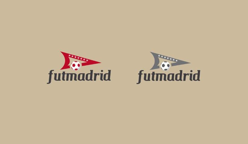 Rediseño de logo futmadrid 2