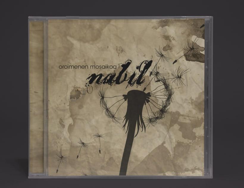 """NABIL """"Oroimenen Mosaikoa""""2013 CD -1"""