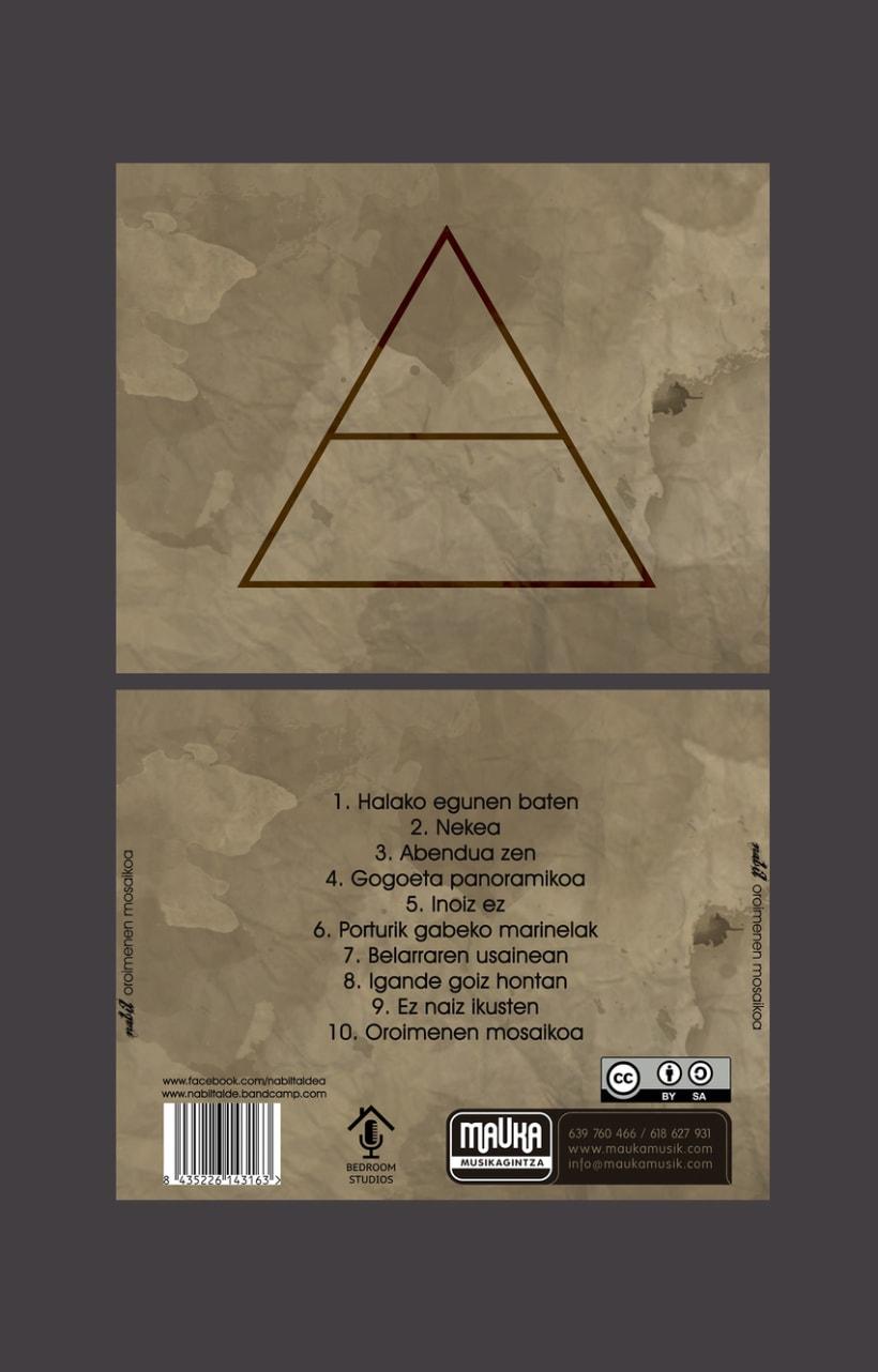 """NABIL """"Oroimenen Mosaikoa""""2013 CD 3"""