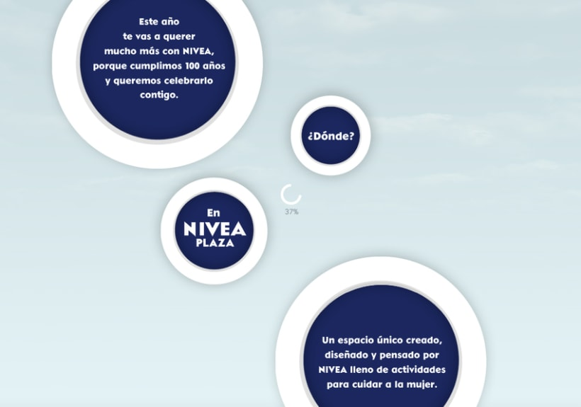 Website NIVEA PLAZA 1