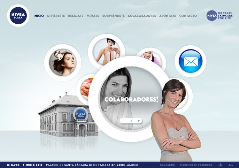 Website NIVEA PLAZA 2