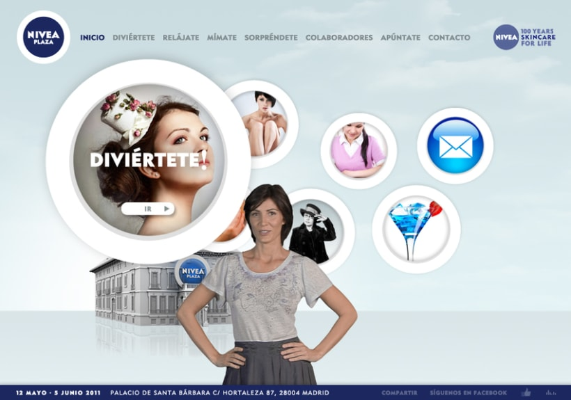 Website NIVEA PLAZA 4