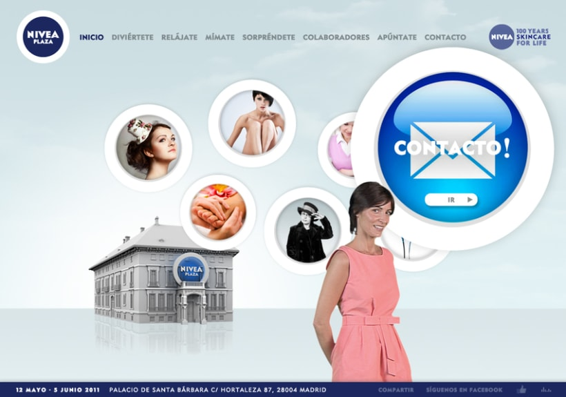 Website NIVEA PLAZA 3