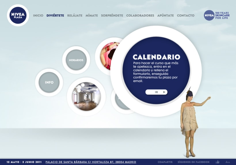 Website NIVEA PLAZA 5