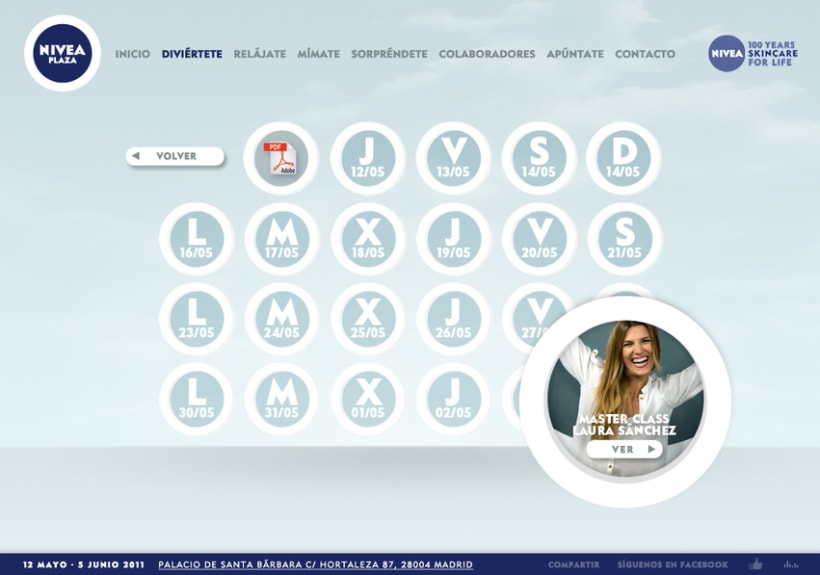 Website NIVEA PLAZA 6