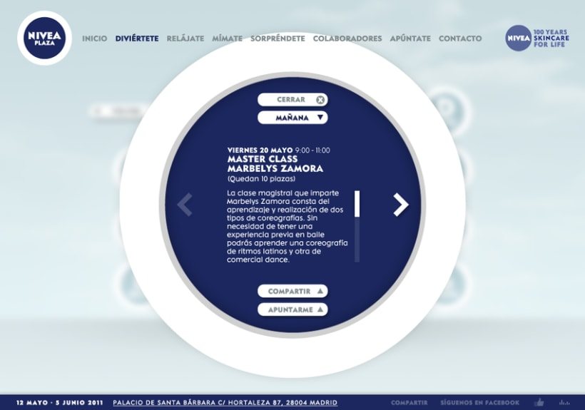 Website NIVEA PLAZA 7