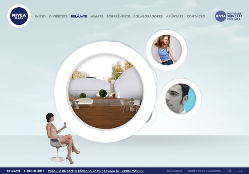 Website NIVEA PLAZA 9