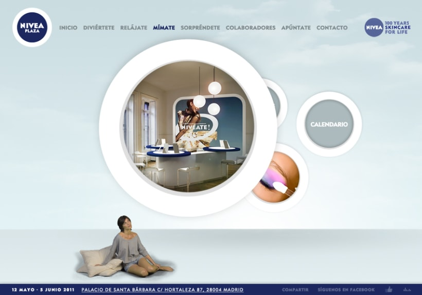 Website NIVEA PLAZA 11