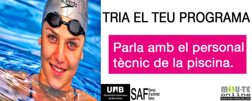 Carteles. Becari en el Servei d'Activitats Física-Universitat Autonoma de Barcelona 1