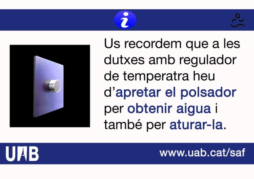 Carteles. Becari en el Servei d'Activitats Física-Universitat Autonoma de Barcelona 3