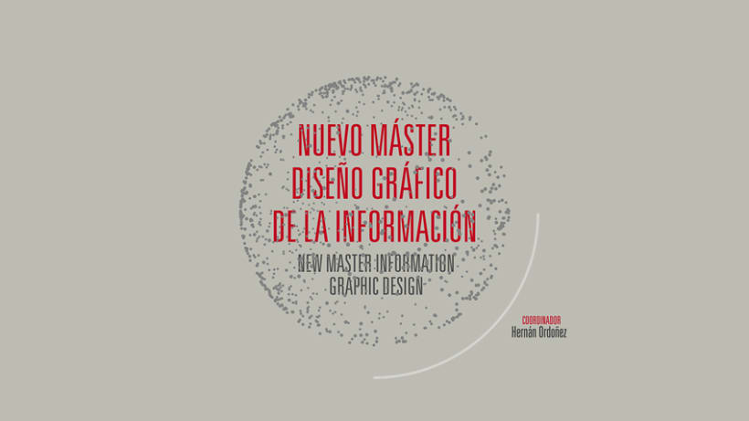 Master Information Graphic Design • IED Barcelona 6