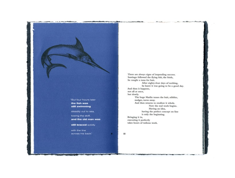 OLD MAN & THE SEA BOOKLET 5