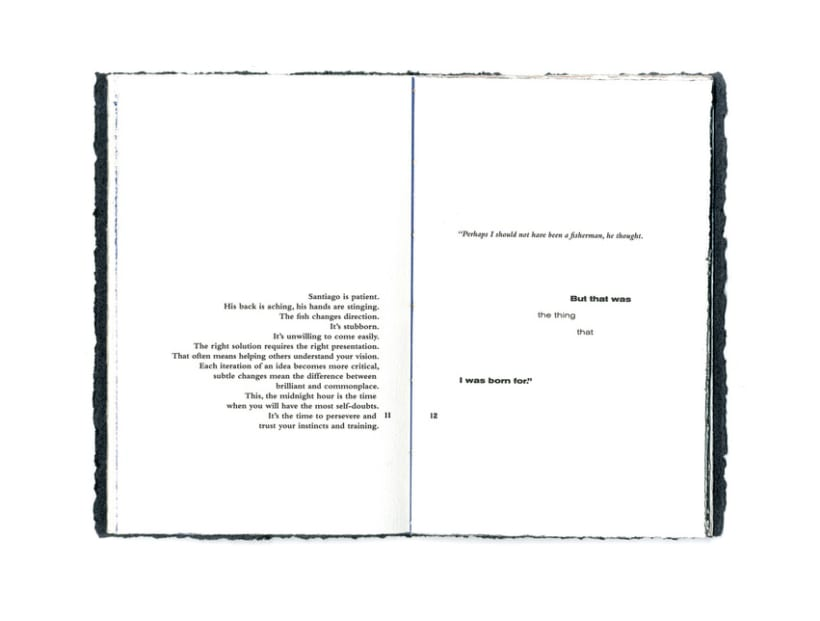 OLD MAN & THE SEA BOOKLET 6