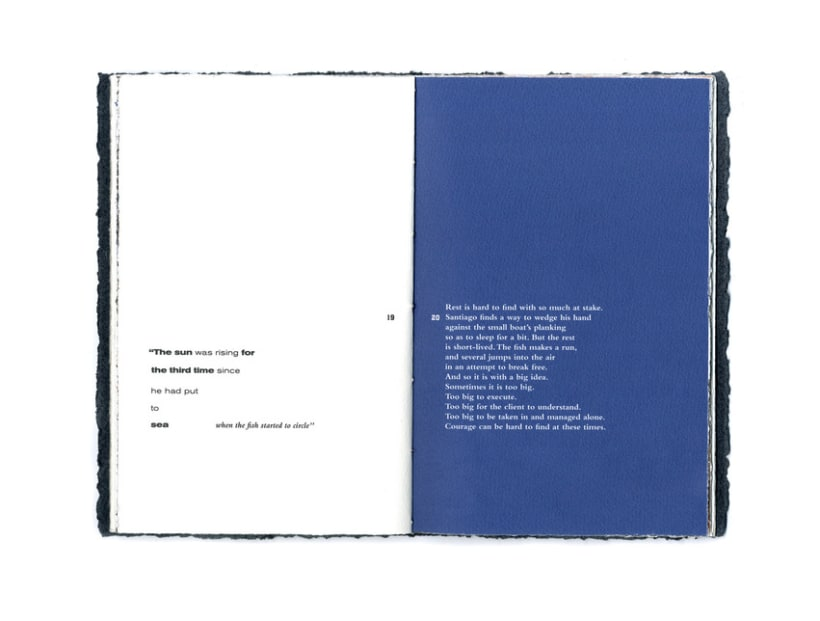 OLD MAN & THE SEA BOOKLET 10