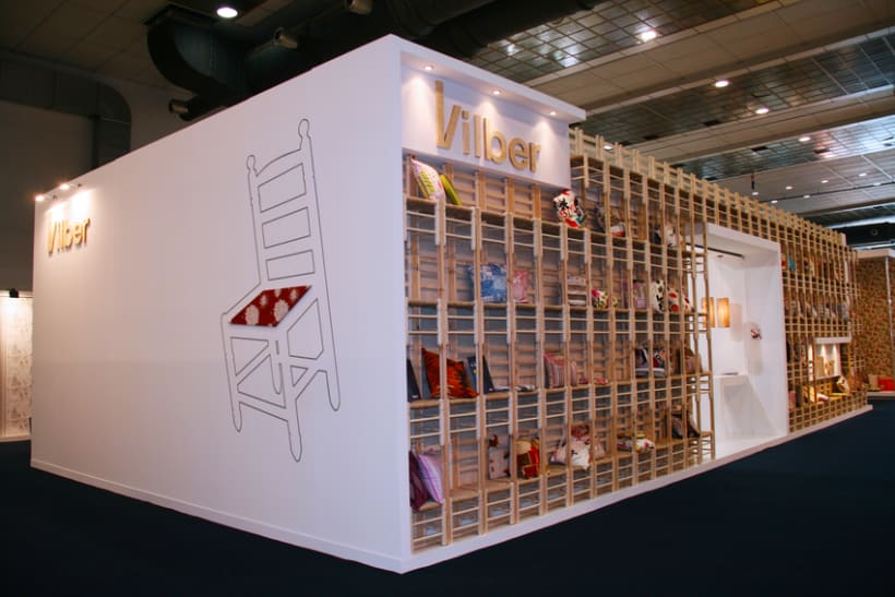 Stand Textiles Vilver. Feria Mood 2012. (Bruselas) 0