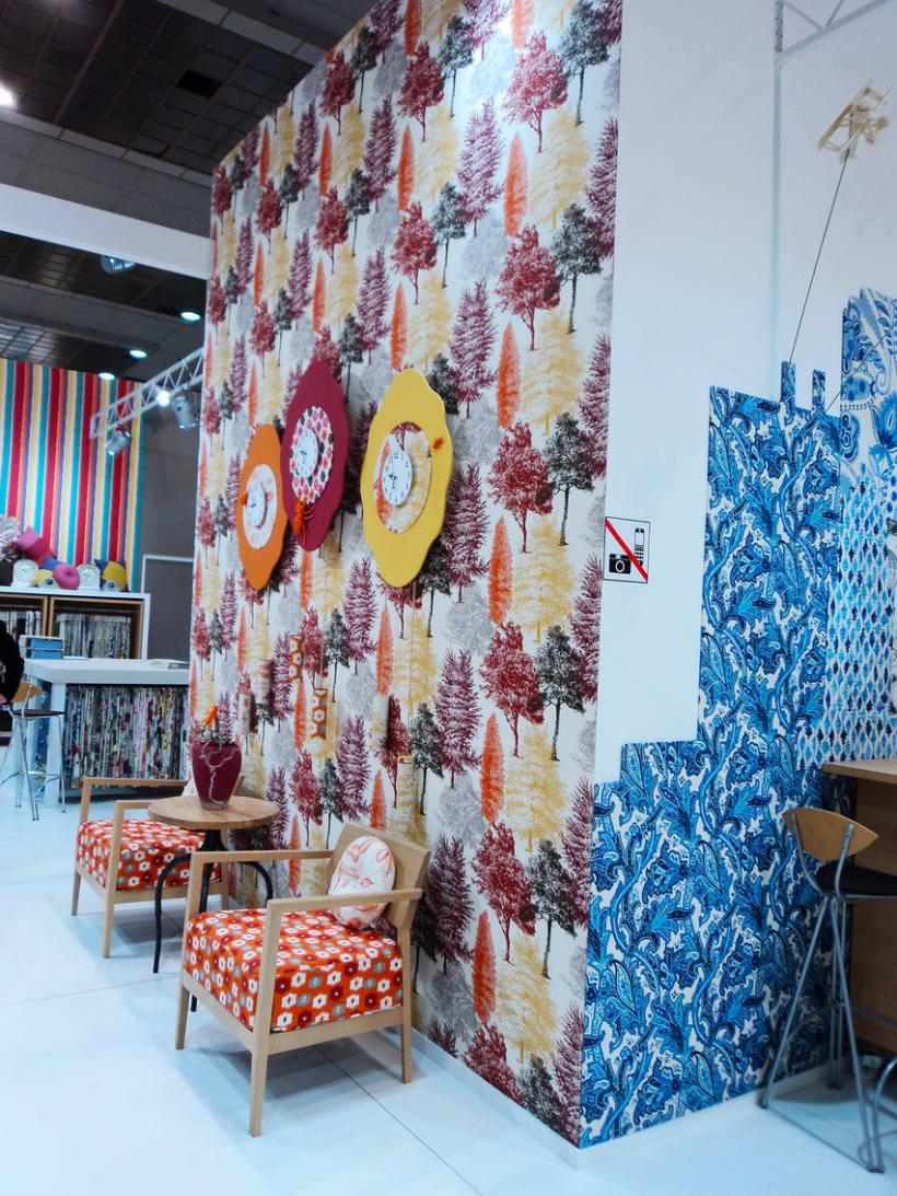 Stand Textiles Vilver. Feria Mood 2012. (Bruselas) 3
