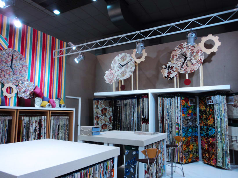 Stand Textiles Vilver. Feria Mood 2012. (Bruselas) 4