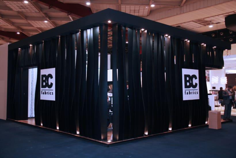 Stand de B&C Fabrics. Feria Heimtextil 2012 (Frankfurt) 0