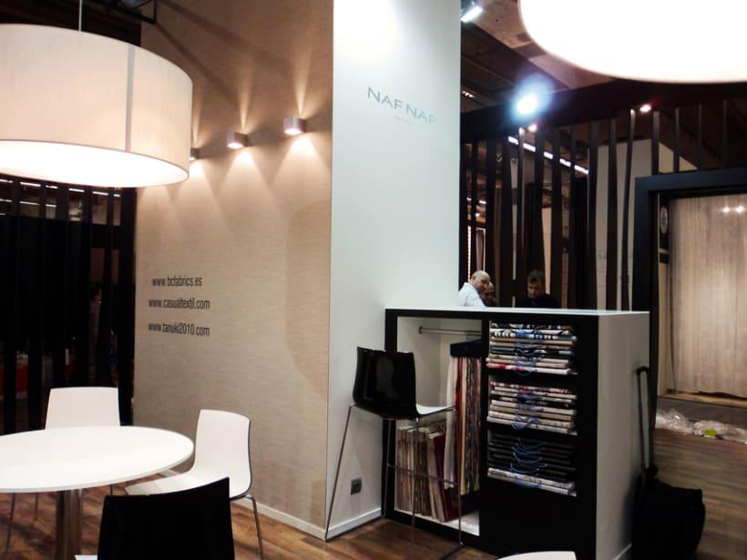 Stand de B&C Fabrics. Feria Heimtextil 2012 (Frankfurt) 3