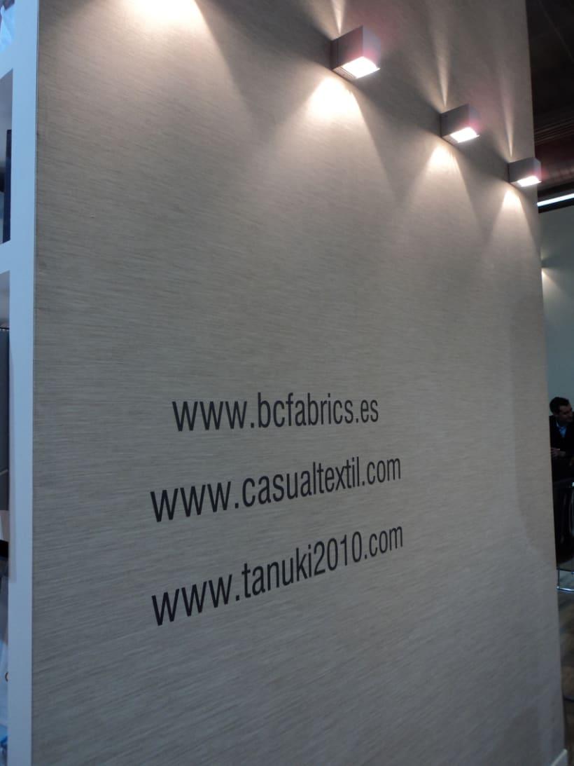 Stand de B&C Fabrics. Feria Heimtextil 2012 (Frankfurt) 4