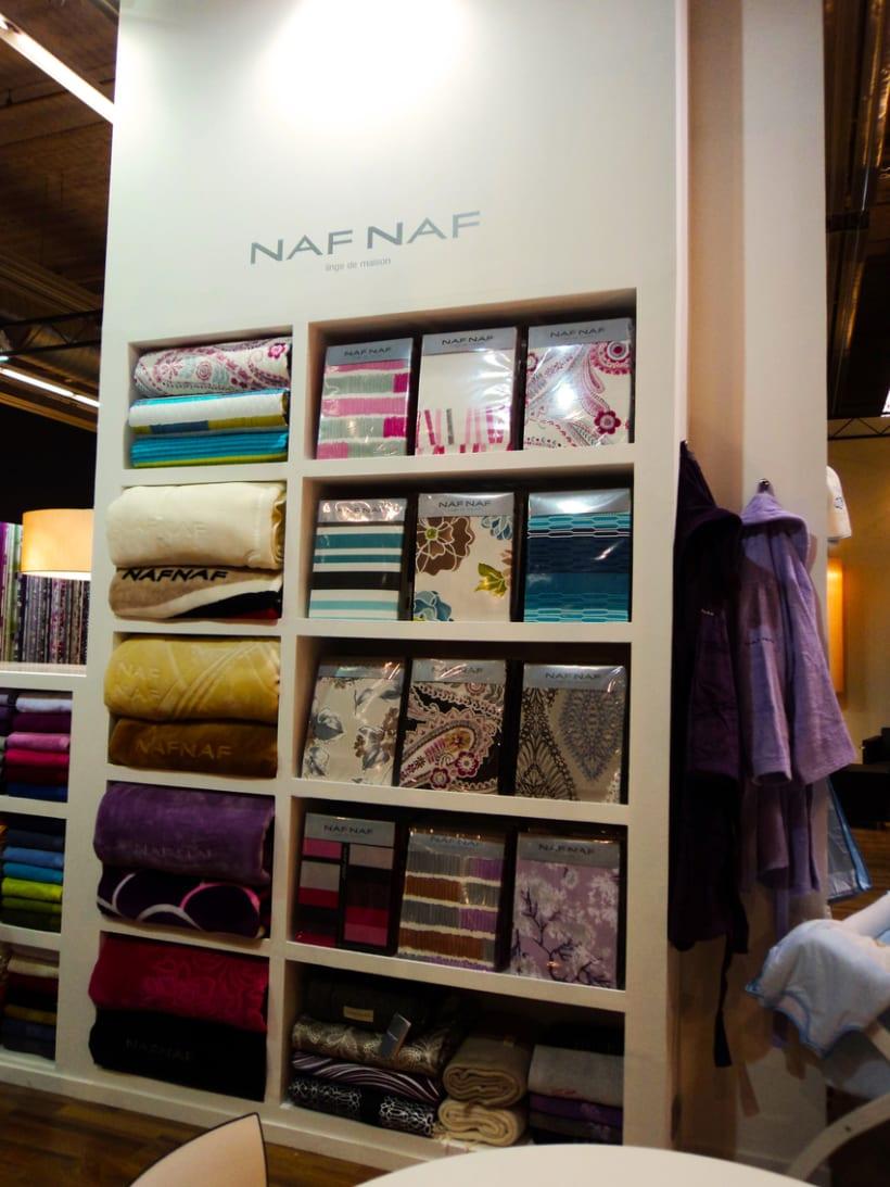 Stand de B&C Fabrics. Feria Heimtextil 2012 (Frankfurt) 5