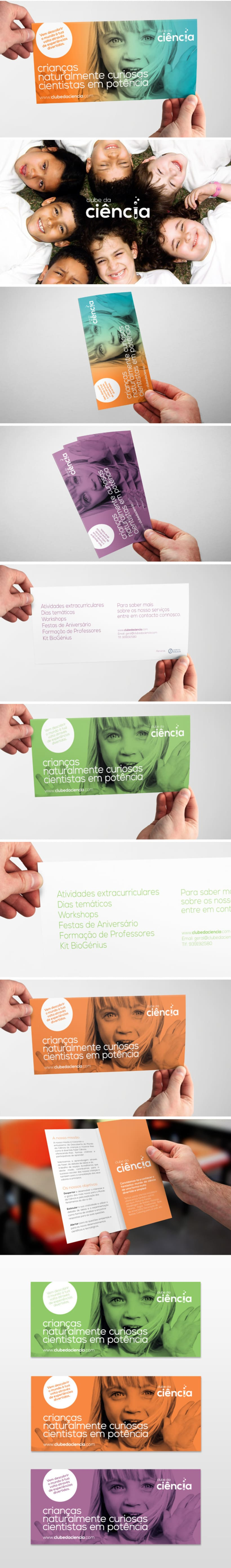 Kids Science Club (Brand, Identity, Flyer) -1