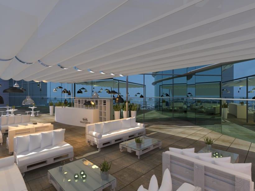 Proyecto de interiorismo para la Firma Toro Loco. El Corte Ingles Av. Francia 2013 (Valencia) 2