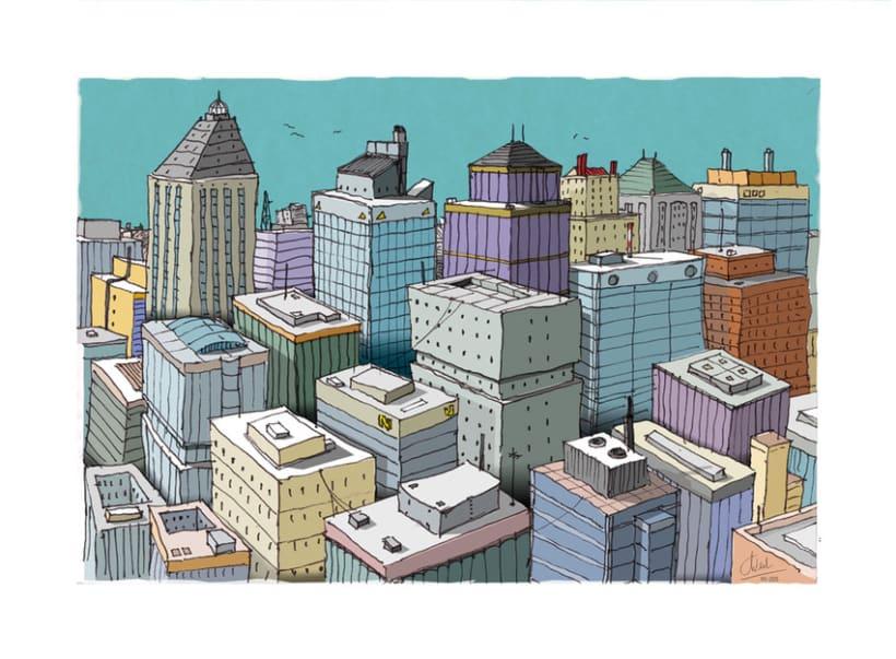 Ciudad en colores 0