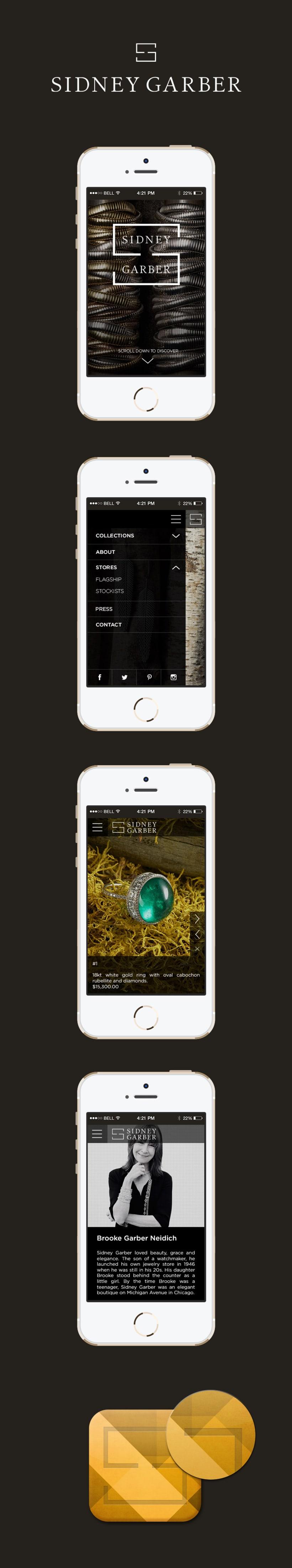 Sidney Garbar mobile app -1