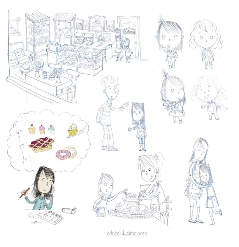 Personajes e ilustraciones de diferentes proyectos -1