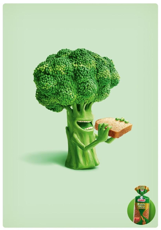 Vegetales Pan Bimbo  1